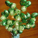 Цветущий хмель из бисера