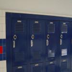 Школа в Америке. Личные шкафчики школьников