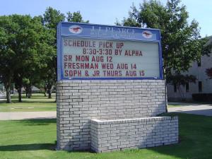 Школа в Америке. Школьное расписание