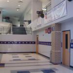 Школа в Америке. Внутри одного из зданий школы