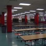 Школа в Америке. Школьный кафетерий