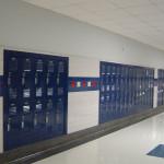 Школа в Америке. Шкафчики школьников