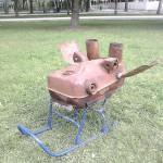 «Лось-броневик». Н.Хохонова, г.Екатеринбург