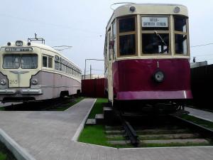 Трамвайный вагон, серия Х, Площадка ретро-трамвае, Екатеринбург