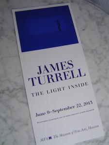 Программа выставки работ Д.Таррелла, г.Хьюстон.
