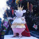 ЦПКиО. Ростовые фигуры на празднике Новогодней Ёлки. Мышиный Король