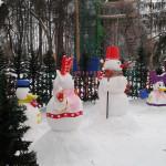 ЦПКиО. Снеговики