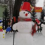 ЦПКиО. Снеговик 2014