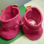 коллекция сувенирная, Розовые парадные ботиночки