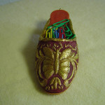 коллекция сувенирная, Позолоченная туфелька-сабо