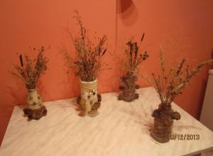 Букеты с цветами сухоцветами