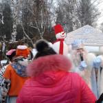 ЦПКиО. Праздник Новогодней Ёлки. Дед Мороз в своей резиденции