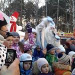 ЦПКиО. Праздник Новогодней Ёлки. Дед Мороз и дети