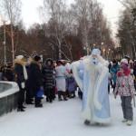 ЦПКиО. Праздник Новогодней Ёлки