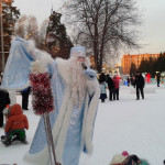 ЦПКиО. Праздник Новогодней Ёлки. Дед Мороз