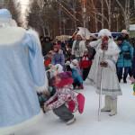 ЦПКиО. Праздник Новогодней Ёлки. Дед Мороз и Снегурочка