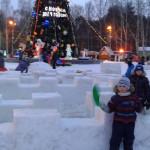 ЦПКиО. Снежный лабиринт