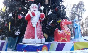 Ростовые фигуры на празднике Новогодней Ёлки