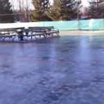 "ЦПКиО. Подготовка катка ""Сияние льда"""
