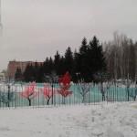 ЦПКиО. Подготовка к Новогодним праздникам