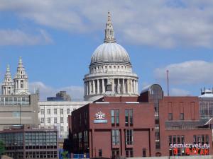 собор святого павла, темза лондон, мост темза лондон, лондон мост тауэр, мост тауэр