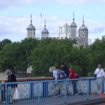 Лондон. Тауэр. Вид с Тауэрского моста