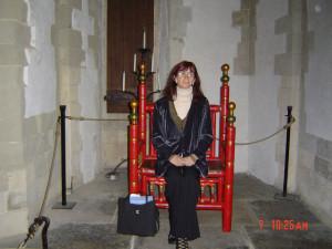 Тауэр. Белая башня. Королевский трон