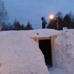 ЦПКиО. Снежный городок