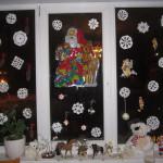 Новый Год. Оформление окна.