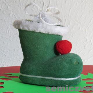 Сапожок Санта Клауса. Коллекция сувенирных башмачков и туфелек