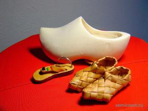 Лапотки. Коллекция сувенирных башмачков и туфелек