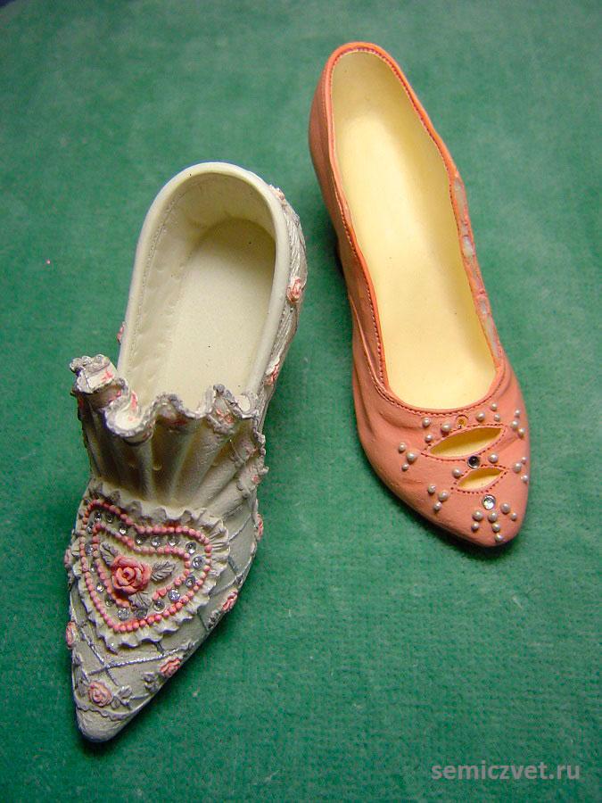 Туфельки. Коллекция сувенирных башмачков и туфелек