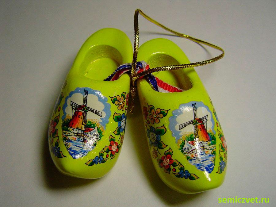 Башмаки «Джулия». Голландские кломпены. Коллекция сувенирных башмачков и туфелек