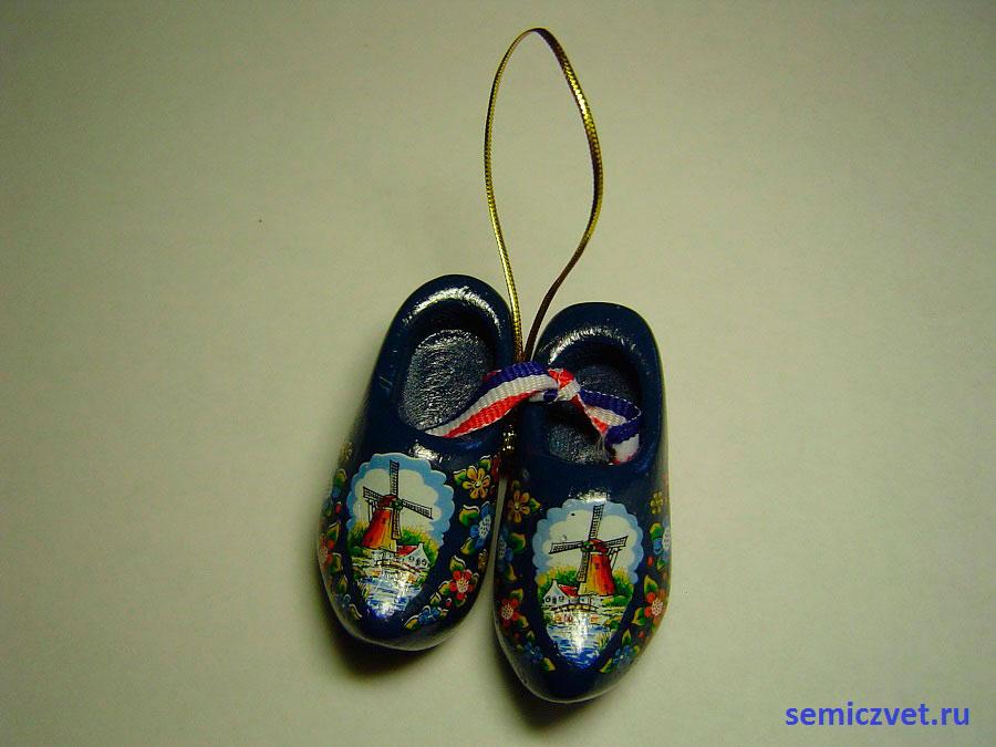 Башмаки «Джейкоб». Голландские кломпены. Коллекция сувенирных башмачков и туфелек