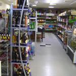 Америка. Русский магазин продуктов. Торговый зал
