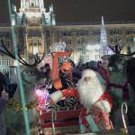 Екатеринбург. Ледовый городок. Дед Мороз