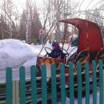 ЦПКиО. Детская рельсовая дорога