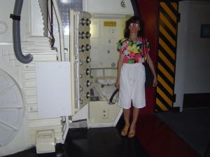 Космический центр НАСА, Хьюстон, космический туалет