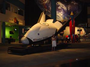 Космический центр НАСА, Хьюстон, космический челнок