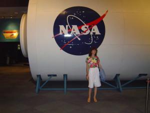 Космический центр НАСА, Хьюстон, космический корабль