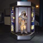 Космический центр НАСА, Хьюстон, скафандр космонавта, Аполлон