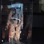 Космический центр НАСА, Хьюстон, скафандр космонавта