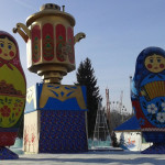 ЦПКиО. Славянский праздник Масленица