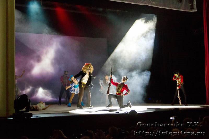 ледовый спектакль, Щелкунчик и повелитель тьмы