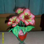 бисерное плетение цветов, цветы из бисера, бисероплетение цветов, букеты цветов из бисера