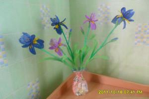 Цветы из бисера ирисы, бисерное плетение цветов, цветы из бисера, бисероплетение цветов, букеты цветов из бисера
