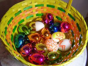 пасхальные яйца, светлый день пасхи, праздник святой пасхи
