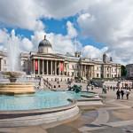 центр трафальгарской площади, достопримечательности лондона трафальгарская площадь, монумент на трафальгарской площади, достопримечательности лондона трафальгарская площадь