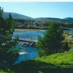 река колвица, красота северной природы, жизнь за полярным кругом, заполярье россии, заполярье север, природа заполярья, кольское заполярье