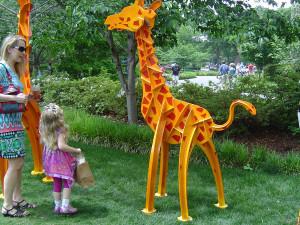 современное искусство сша, динамическая скульптура, ботанический сад дендропарк, кинематическая скульптура, штат техас сша, современное искусство скульптура, артскейп
